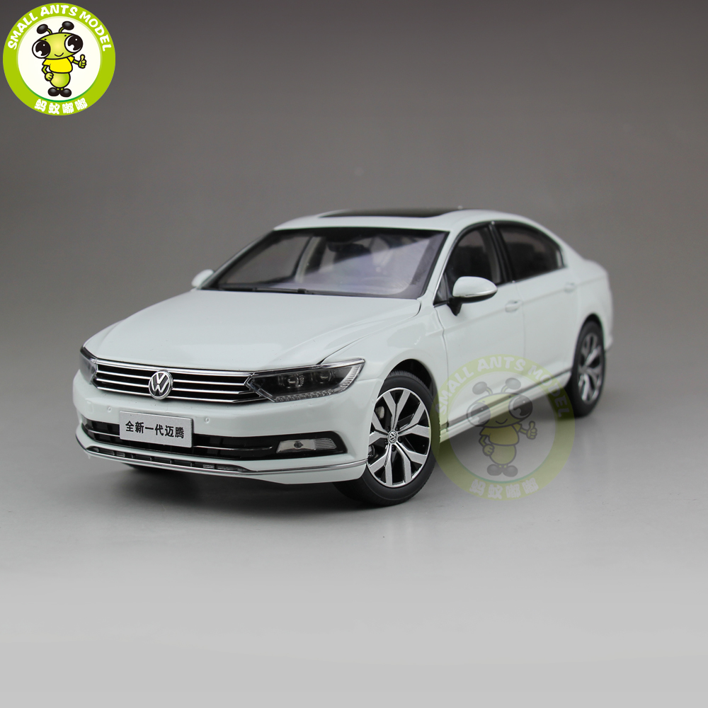 1/18 FAW VW Passat B8 Magotan Volkswagen Diecast Car Model Toys Girl Boy Birthday Gift Collection Hobby White 1 18 vw volkswagen teramont suv diecast metal suv car model toy gift hobby collection silver