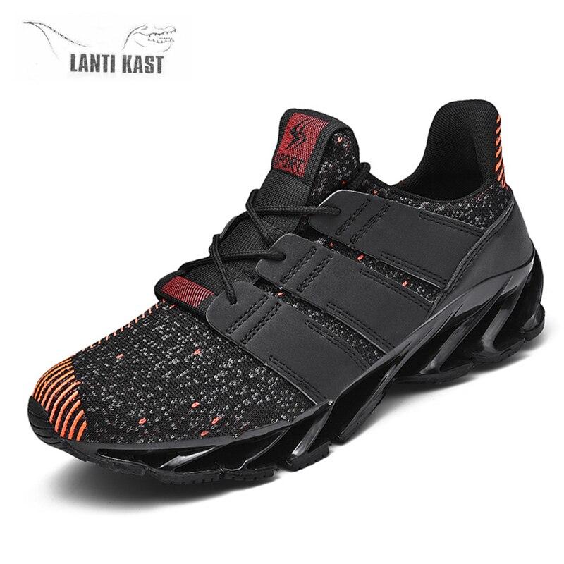 Men Shoes Casual Sports Sneakers Men Trainers Air Mesh Summer Sneakers Fashion Lace-up Plus Size Basket Shoes кроссовки