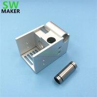 SWMAKER DIY Ultimaker 2 Extended UM2 Mount V6 Custom metal mount holder aluminum alloy Silver