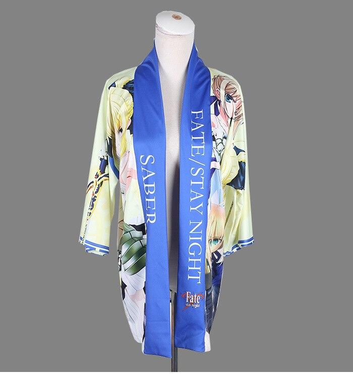 Japanese Anime Coat Fate Stay Night Coat haori cloak cos kimono Free Size kawaii clothes anime cosplay Female girlfriend