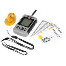 LUCKY FFW718 Fish Finder Professional Sounder Wireless Sonar Fishfinder with Dot Matrix Fish Finder Fishing Probe Detector