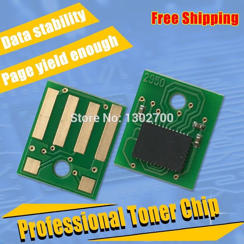30PCS 60F2H00 602H Toner Cartridge chip for lexmark mx310 mx410 mx510 mx511 mx610 mx611 MX 310 410 510 powder refill reset 10K chip for lexmark barcode printers chip for lexmark mx 611 chip new digital copier chips free shipping