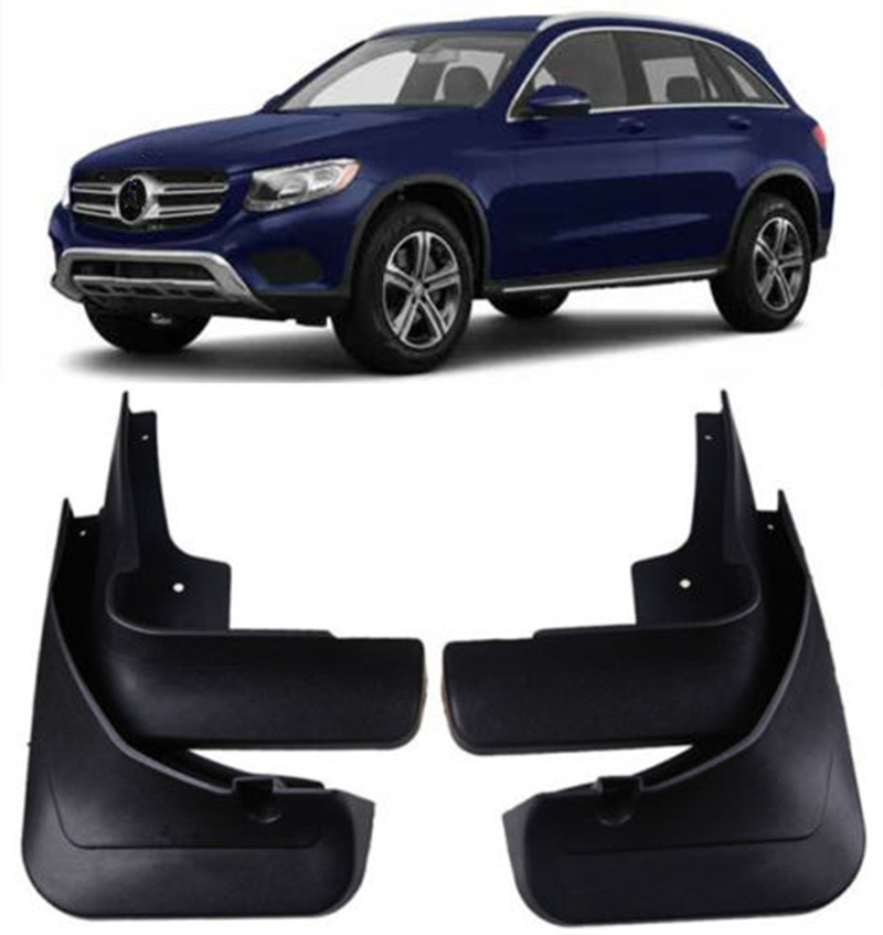 4 Pcs/ensemble Voiture pare-Boue Mud Flaps-Boue FIT POUR 2015-2018 Benz GLC X253 Fender