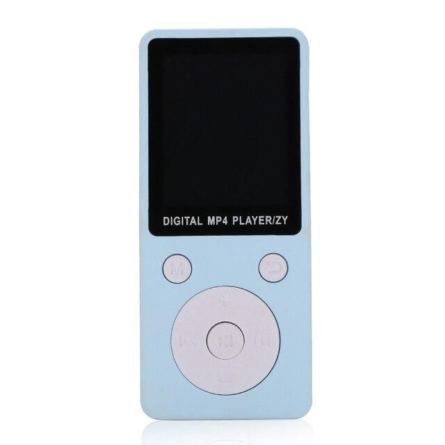 MP4 Âm Nhạc Máy Nghe Nhạc HD Xách Tay Thời Trang Màn Hình Hỗ Trợ 32 GB TF Card Ghi Âm Đài Phát Thanh SD998