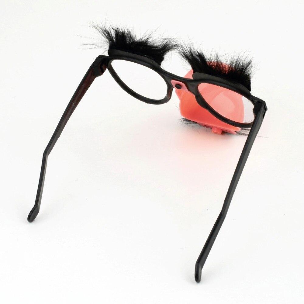 bae6bc6802 SDFC 1 pièces faux nez sourcil moustache Clown fantaisie habiller Costume  accessoires Fun fête faveur lunettes dans Parti Masques de Maison & Jardin  sur ...