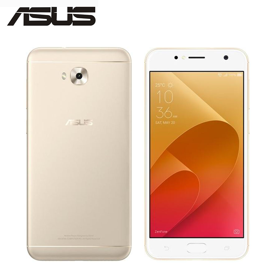 ASUS ZenFone Global 4 Selfie ZD553KL 4G LTE Mobile Phone 4 GB 64 GB Octa Core 5.5 polegada 16MP + 20MP Câmera Dupla Smartphone Android SIM