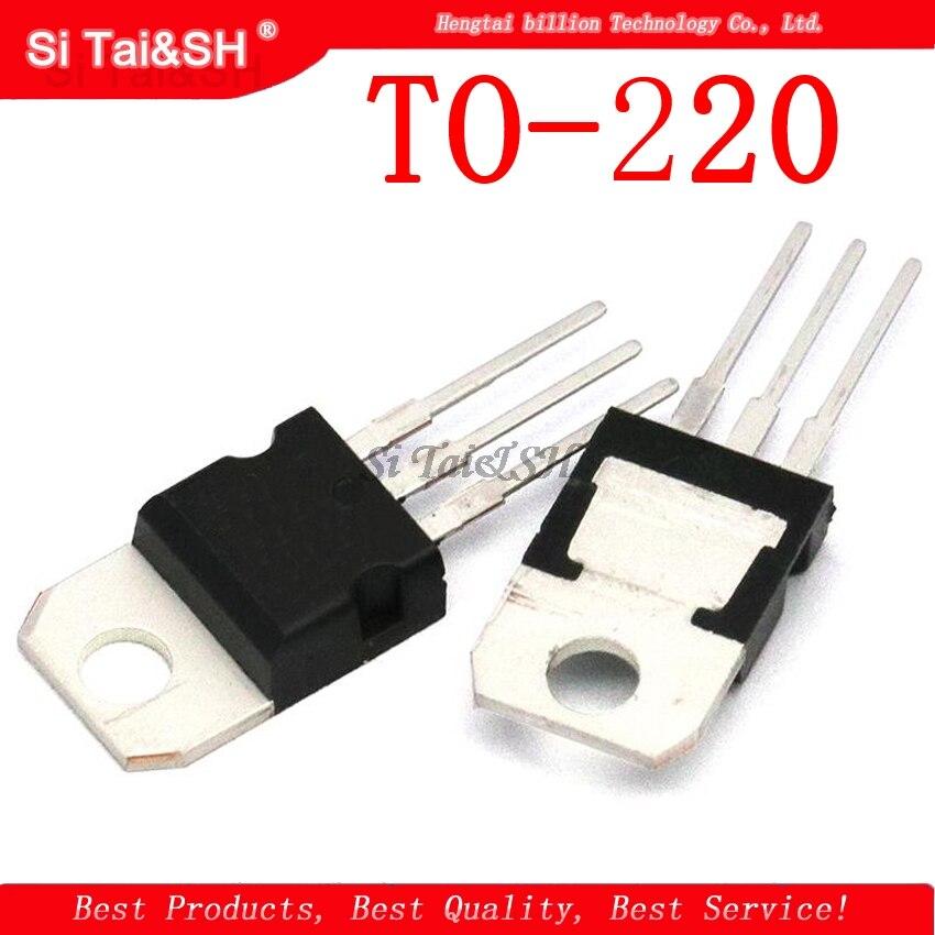 10pcs/lot LM317T LM317 TO-220 1.2V-37V 1.5A Original IC Chip Chipset