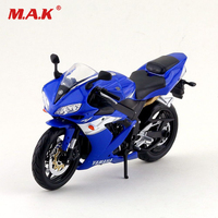 1/12 Yamaha YZF R1 diecast motorcycle car vehicles blue black color diecast racing motorbike kids toys collection gifts