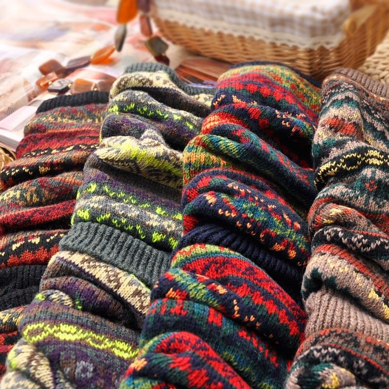 WEIXINBUY Women Winter Elegant Over Knee Long  Knit cover Patchwork Colorful Ladies Crochet Vintage Leg Warmers Legging Chic HTB1lbnPgBDH8KJjSspnq6zNAVXaK