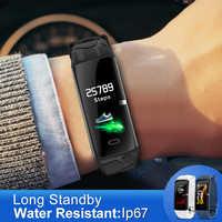 E58 femmes bracelet intelligent étanche sport pour Iphone téléphone Smartwatch moniteur de fréquence cardiaque fonctions de pression artérielle pour hommes enfants