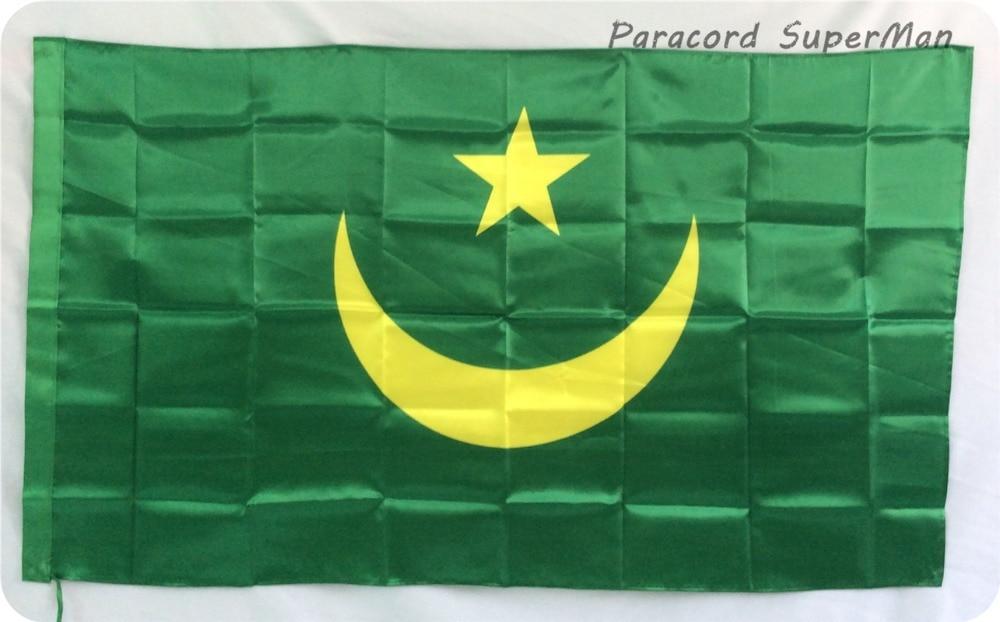 Μαυριτανία 3ft x 5ft Κρεμαστά Σημαία - Ομαδικά αθλήματα - Φωτογραφία 2