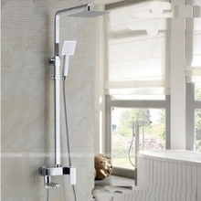 Uythner Modern Wholesale And Retail Promotion Chrome Finish Rainfall Shower Faucet Mixer Tap