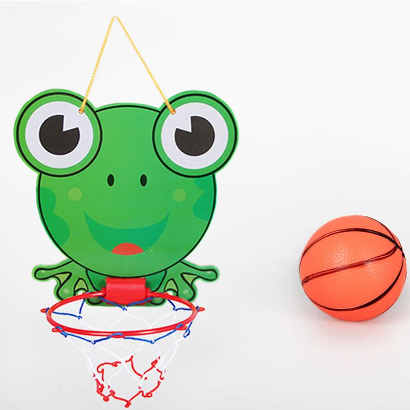 nios juguetes al aire libre mini red del aro de baloncesto tablero conjunto nios colgante de
