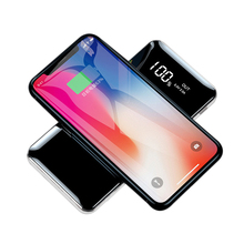 10000mAh QI Wireless Charger Power Bank For iPhone X XS MAX XR 8 Dual USB Battery Powerbank Samsung S9 S8