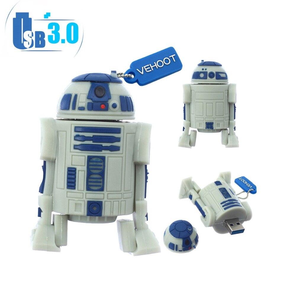 Star Wars Robot R2d2 Usb 30 Cle Usb Fantaisie Pouce Mémoire