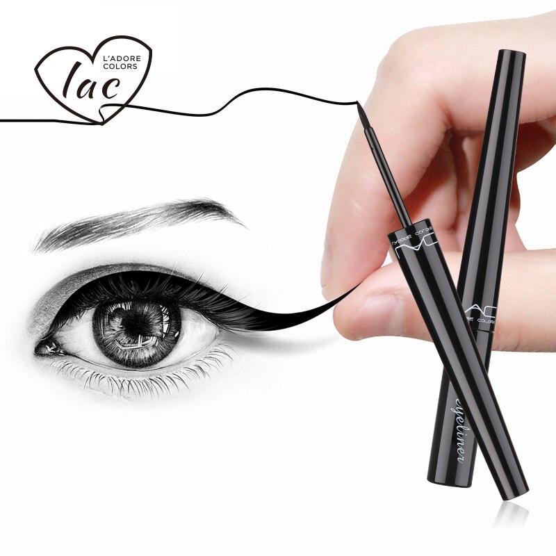 все цены на LAC Eyeliner Pencil Waterproof Black Liner Liquid Pen Eye 1PC Makeup Cat Long-Lasting Cosmetic Comestics Kajal Line Watercolor