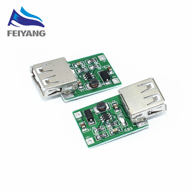 Шт. 10 шт. DC В 3 в В до 5 USB выход зарядное устройство step up мощность модуль мини DC-DC повышающий преобразователь