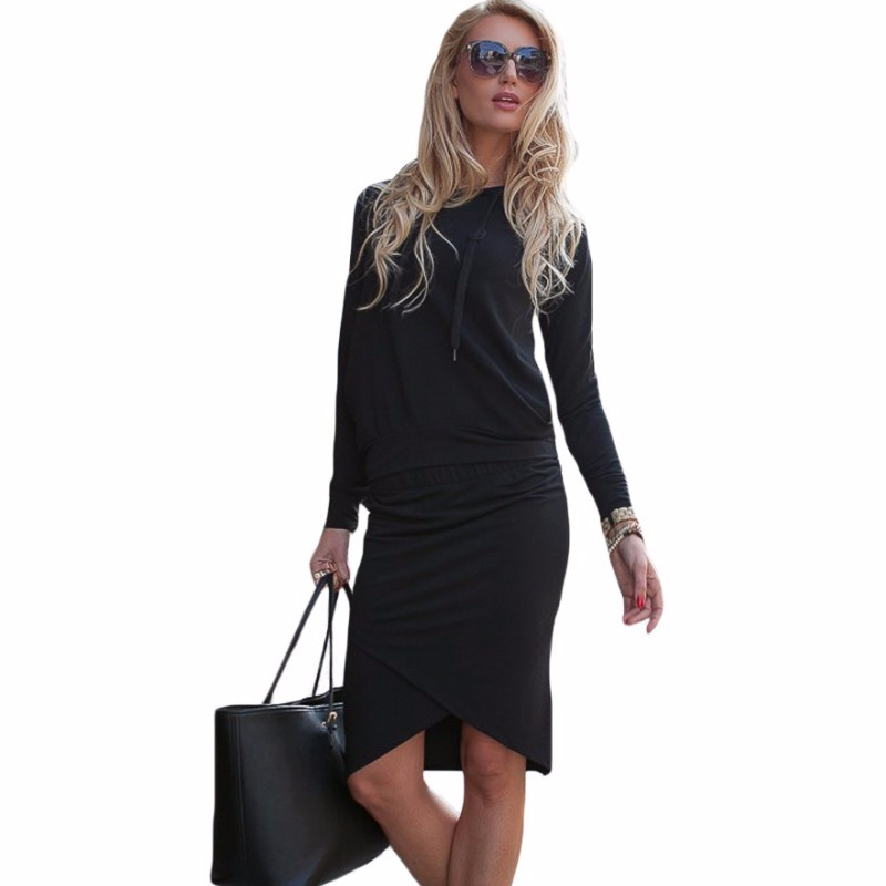 Black-Sporty-Hoodie-Pencil-Skirt-Set-LC63017-2-2_conew1