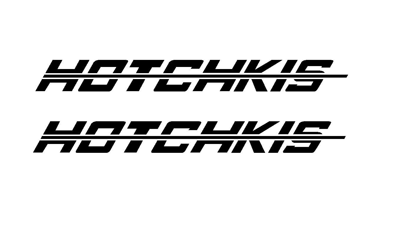 For 2pcs 2 Hotchkis Suspension Cut Vinyl Sticker Decal Car Styling In Car Stickers From