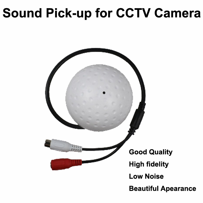 Good quality high fidelity low noise CCTV camera Sound pick-up, Mic/microphone speaker Monitor audio for Security camera DVR panel microphone hidden surveillance mic cctv security agc pick up audio rca sound monitor