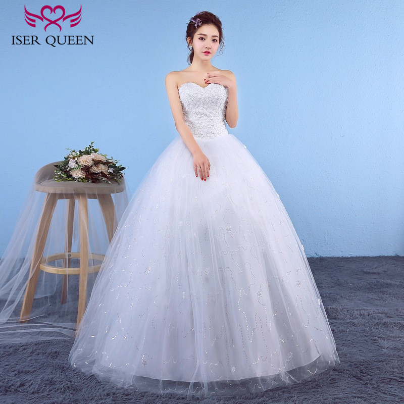 European Simple Elegant Wedding Dresses 2018 Lace