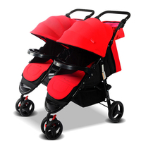 Can be taken apart double stroller portable twins strollers can sit can be folded baby stroller for newborns
