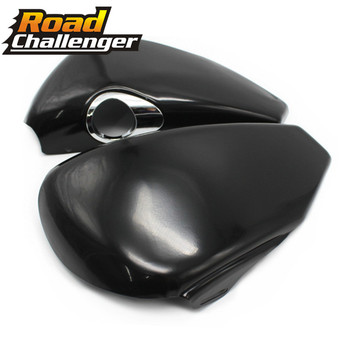 For Harley Sportster XL1200 XL883 Iron 883 XL 1200 48 72 04 - 13 Motor Right And left Side Oil Tank Battery Cover Fairing Guard