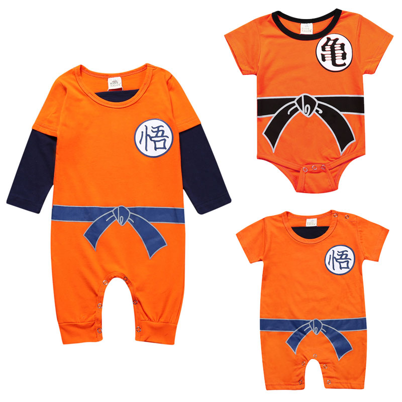 da69ad69be8 Novelty Summer Baby Clothing Rompers Newborn Boys Girls Cotton O-Neck  Crawling Clothes Lovely Infant