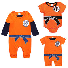 Novelty Summer Baby Clothing Rompers Newborn Boys Girls Cotton O-Neck Crawling Clothes Lovely Infant Clothes 7 To 24 Months