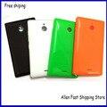 Для Nokia X2 Назад Корпус Батареи, новый OEM Крышка Case Shell Для Nokia X2 Dual SIM RM-1013 X2DS Корпус С Боковыми Кнопками + ЛОГОТИП