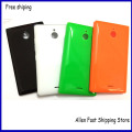 For Nokia X2 Back Battery Housing , New OEM Cover Case Shell For Nokia X2 Dual SIM RM-1013 X2DS Housing With Side Buttons+LOGO