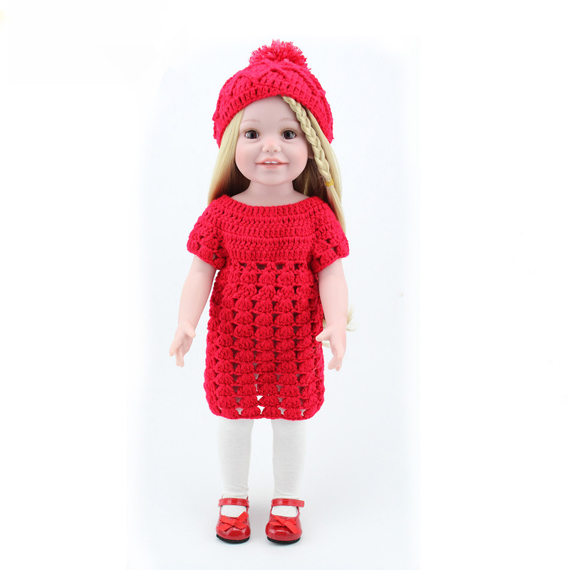 45cm/18 American Girl Dolls Our Generation Doll Reborn Babies Lifelike Toys For Kids Play House Toys Great Gift Doll Juguetes lifelike american 18 inches girl doll prices toy for children vinyl princess doll toys girl newest design