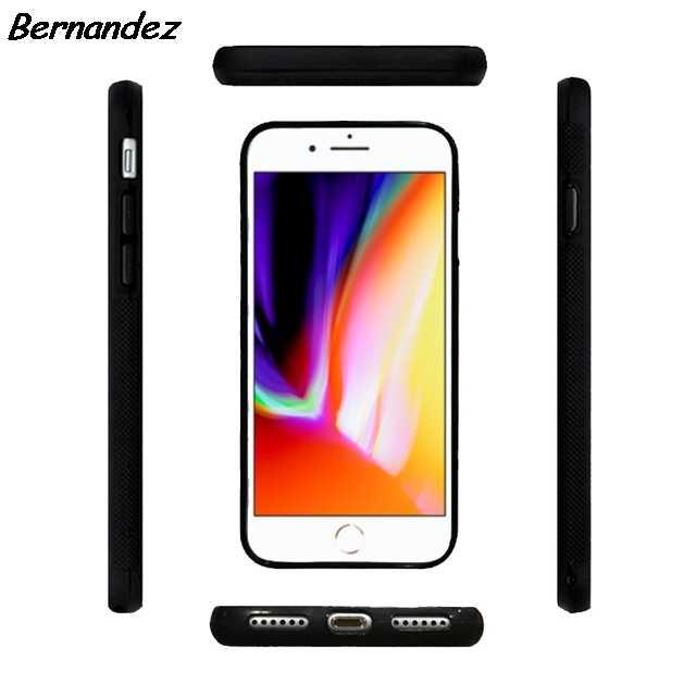 Bernandez 5 5S SE 6 6S Мягкий ТПУ силиконовый резиновый чехол для телефона iPhone 7 8 Plus X Xs Max XR Лиса животные Дерево