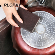 Magic Sponge Cleaning-Stainless Steel Pot Rust Removal Kitchen Bathroom Sink Cleaning Accessory Nano 2 styles