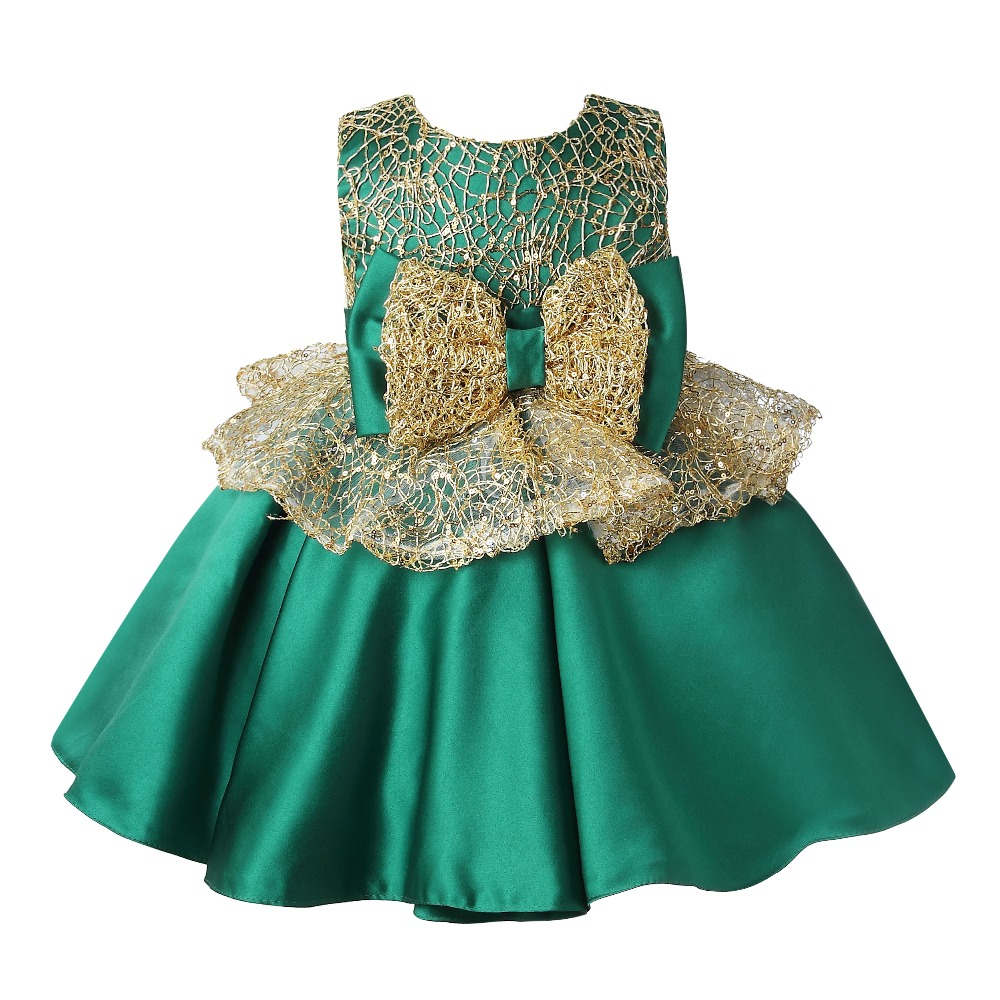 High Quality Party Girls Evening Dress Performance Kids Dresses For Girls Pageant Costume Princess Dresses Girls