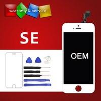 100% новый 1 шт. ранг ЖК-экран OEM для iPhone SE ЖК-дисплей дигитайзер сборка Замена