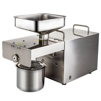 Home oil press machine in oil presser Mini seed oil extractor Peanuts sesame rapeseed CE semi automatic