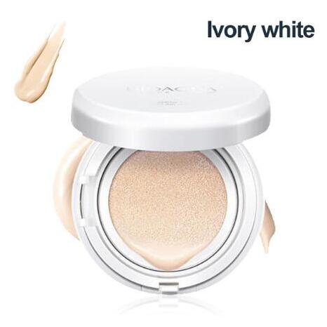 BIOAQUA воздушная Подушка BB крем изоляция BB Обнаженная консилер контроль масла увлажняющая Жидкая Основа CC крем - Цвет: Ivory white