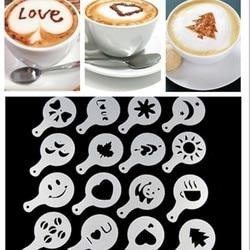 Шаблоны для рисунков на кофе