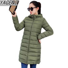 Down Cotton Coat Women's Winter Jacket 2017 New Warm Hooded Cotton Coat Female Slim Down Cotton Overcoat Student Cotton Clothing