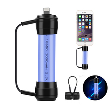 XC01 Mini Magnetic Outdoor Portable Light Camping Emergency 2A Fast USB Charger Power Torch for Mobile Phone