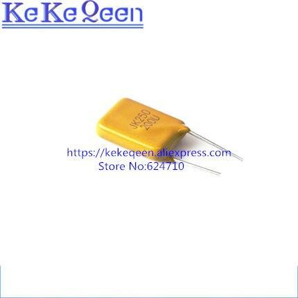 10PCSLOT Self Recovery Fuse JK250-200U 250V 200MA 0.2A PPTC