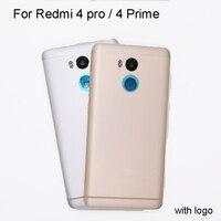 Original For Xiaomi Redmi 4 Pro Redmi 4 Prime Battery Door Cover Housing Back Cover Power
