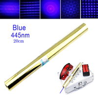 High power all copper Most powerful Blue Laser Pointer 450nm1000m Focusable Lzser Pointer burn match candle burning cigarette