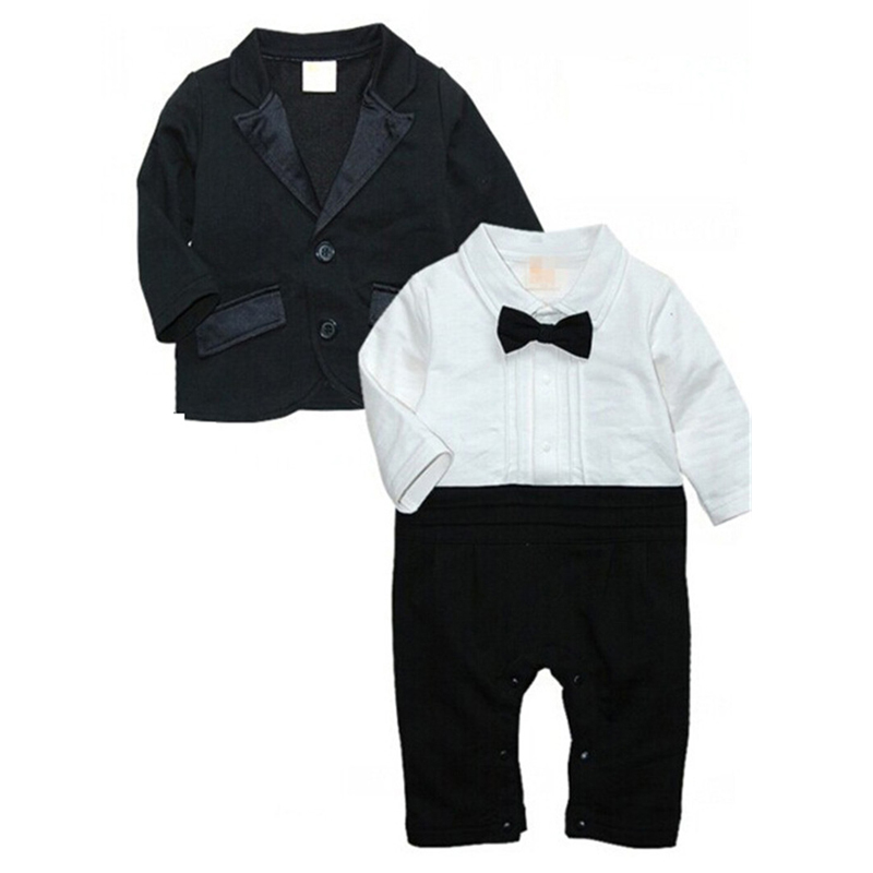 Baby Boys Clothing Sets Gentleman Newborn Baby Clothes Autumn Toddler Baby Boy Clothes Roupa Infant Jumpsuits Cotton Baby Romper baby boys clothes set 2pcs kids boy clothing set newborn infant gentleman overall romper tank suit toddler baby boys costume