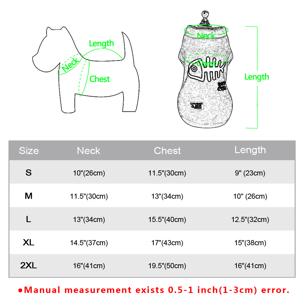 Warm Dog Jacket Made with Soft Polyester Material Suitable for Chihuahua/Yorkie/Poodles 5