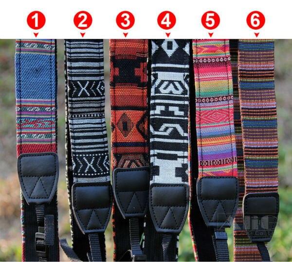 1 Piece Chinese National Style Camera Shoulder Neck Strap Belt for Nikon Canon Sony Fujifilm Leica Pentax Panasonic DSLR Camera