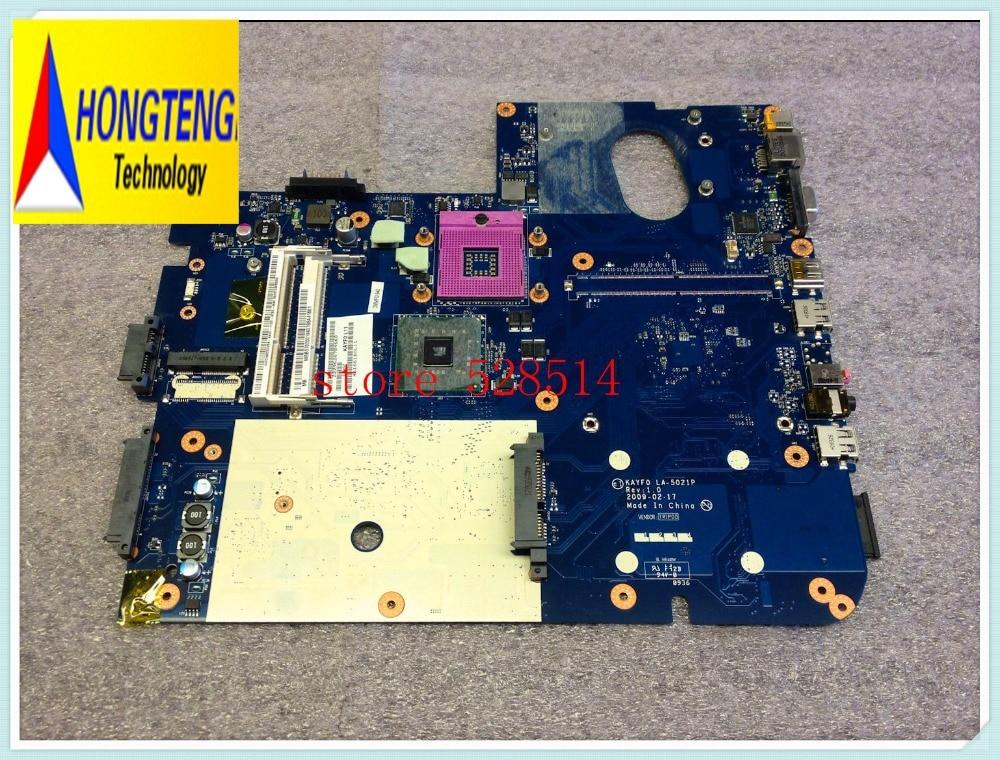 Original FOR Gateway NV78 MOTHERBOARD Logic System Board Socket 478 LA-5021P  100% Test ok abc board 5wwm 78