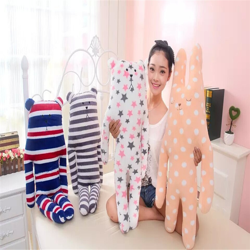 1Pc 85cm Cute Animal Pillow Lovely Japan ACCENT Craftholic Stuffed Bear Dolls Big Special Gift Toys for Kids Children Girlfriend pernycess 1pcs 130cm bear cute oversized pillow stuffed toys