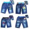 Новый летний Гадкий я приспешников и Человек-Паук мальчиков джинсы короткие хлопок детская одежда детские шорты брюки детские мультяшном стиле